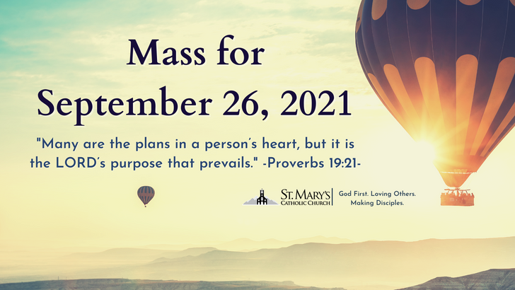 September 25/26, 2021