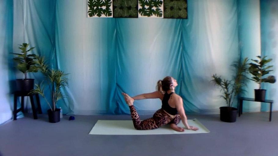 Beach Yoga Flow for Self-Love