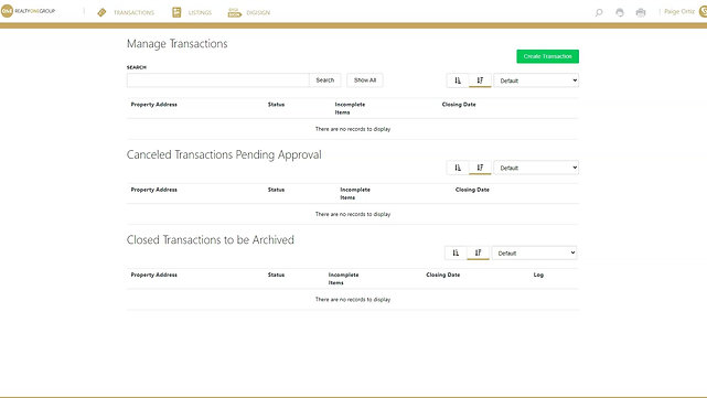 Documents & Financial Tools