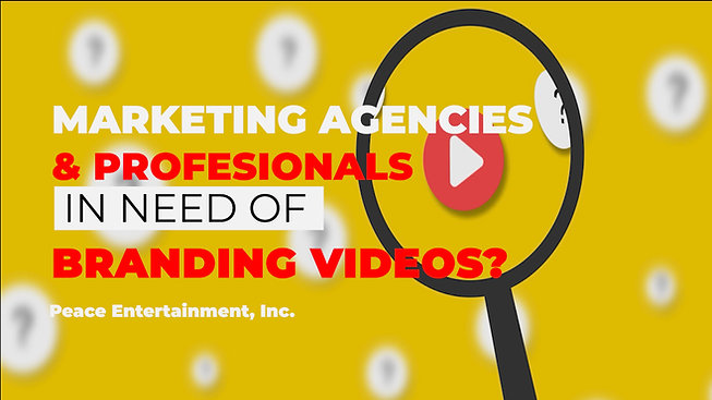 Our Work - Branding Videos & Video Production