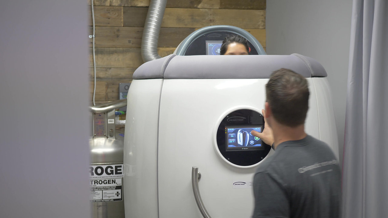Cryotherapy @ Chiropractic Remedy