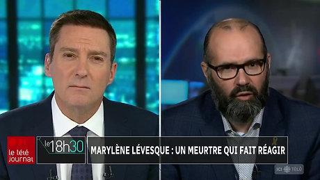 Entrevue avec Patrice Roy - Téléjournal