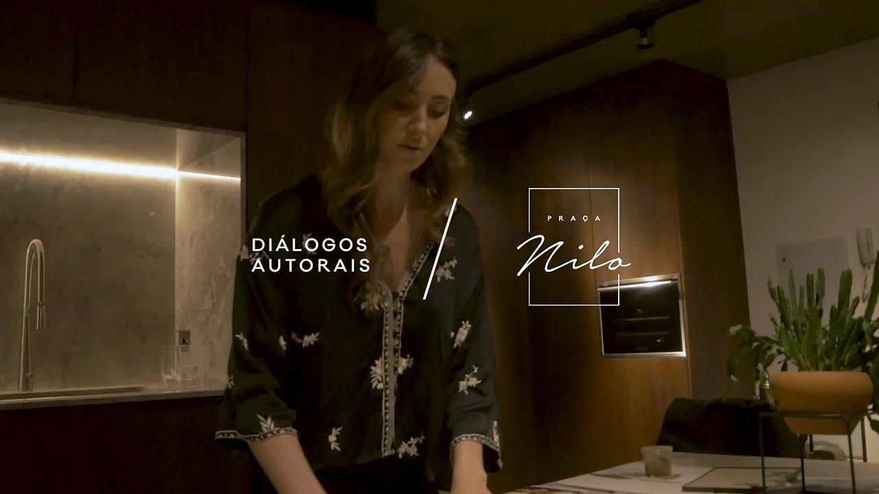 Praça Nilo - Diálogos Autorais por Fernanda Basso