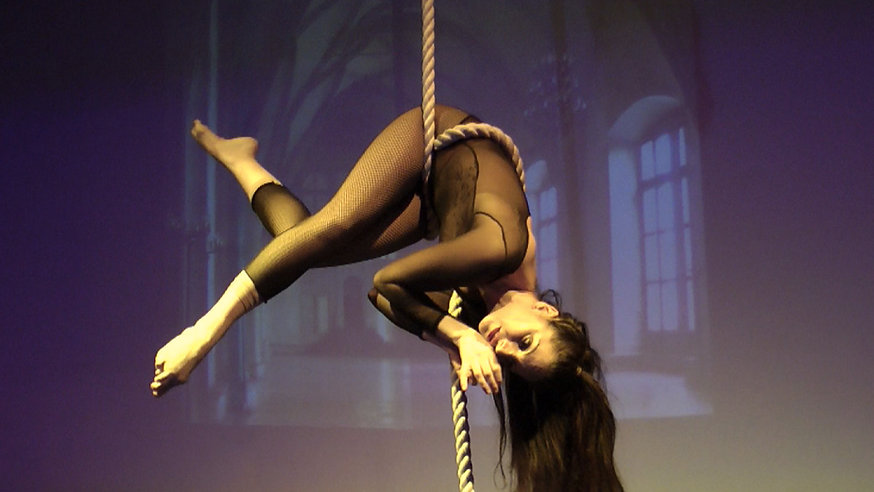 Charlly Performing at Tainted Virtue Caberet
