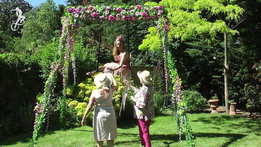 Fabulous Floating Flora & Flower Freestanding Aerial Rig