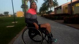 Triatleta Jéssica Messali, evento Sunset Sprint Triathlon