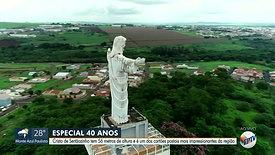 EPTV 40 anos homenageia Cristo de Sertãozinho