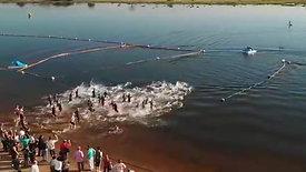 "Sunset Sprint Triathlon no Parque Ecológico e de Lazer ""Gustavo Simioni"""