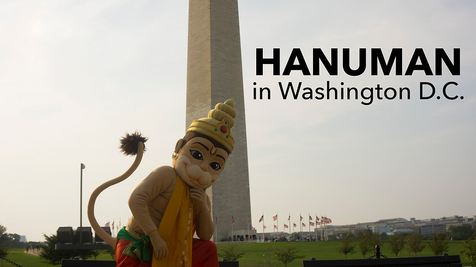 Hanuman in Washington D.C.