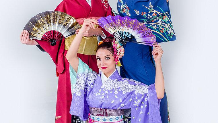 Japonské tance a japonská taneční představení