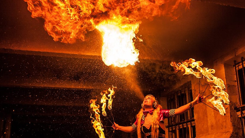 Fire shows