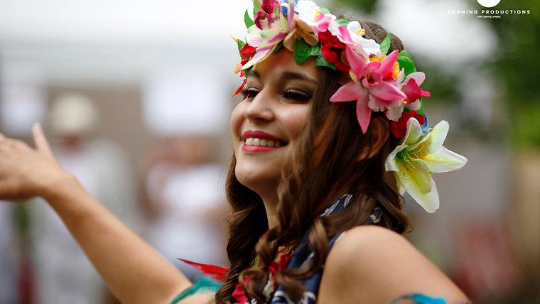 Havajský večírek