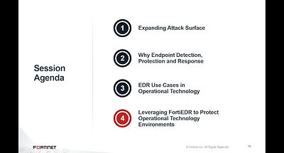 Top 5 Use Cases for Endpoint Protection in Operational Technology
