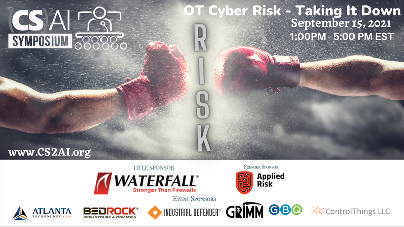 2021 (CS)²AI Online Symposium - OT Cyber Risk: Taking it Down - Boxing Meets Cybersecurity