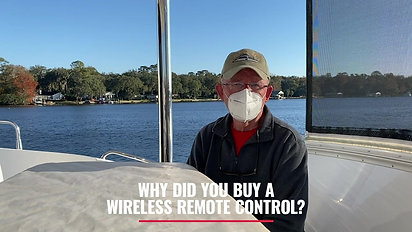 Why did you buy a wireless remote control