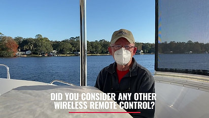 Did you consider any other wireless remote control