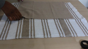 How to Sew an Apron (Using a Tea Towel Part 2)