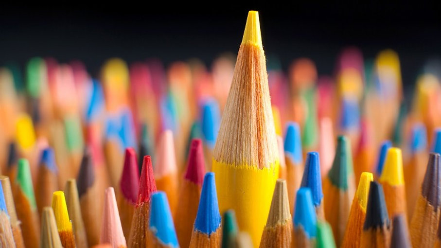 צבעים עיצוב גרפי - Colors design