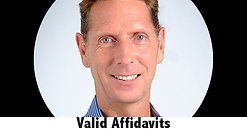 On the ground with Andrew: Valid Affidavits