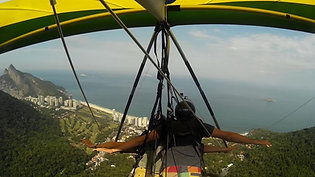Hangliding flight