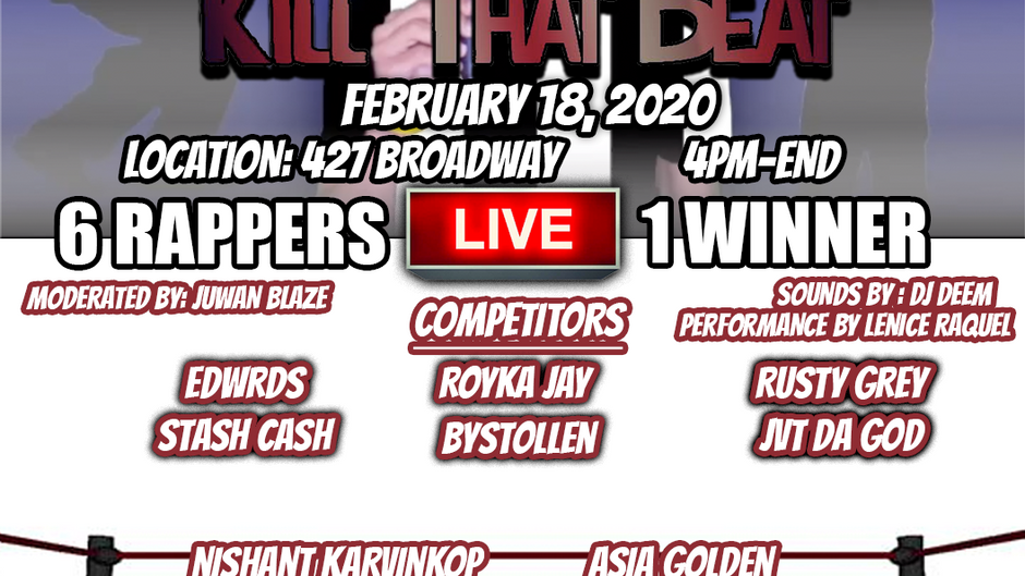 LIVE! Kill that Beat