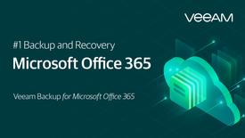 Veeam Backup for O365