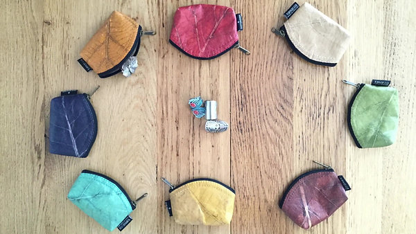 Coin Wallet Leaf Leather Video