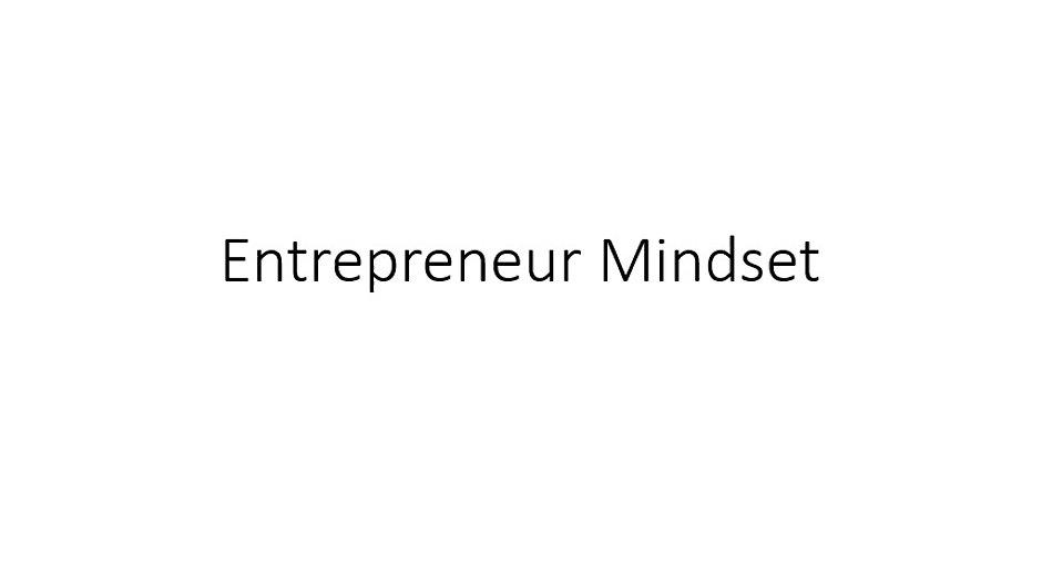 1- What is entrepreneurship?