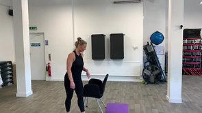 40min Chair Sculpt Workout