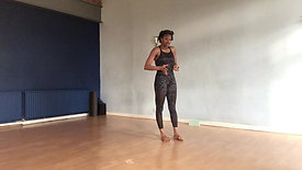Moving from Standing Split to Dancers Pose