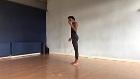 How to move from High arch to Standing Split