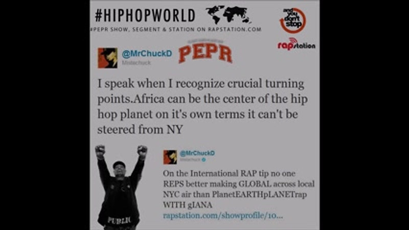 Chuck D on Planet Earth Planet Rap  PEPR  PEPRradio