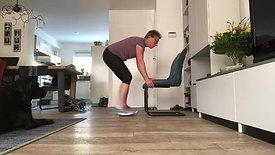 oefeningen met stoel