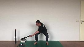 Clubbell Series - swing zijwaards