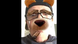 Agrume, le chien qui fume