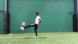 Ball & Wall: 2-Touch no Bounce