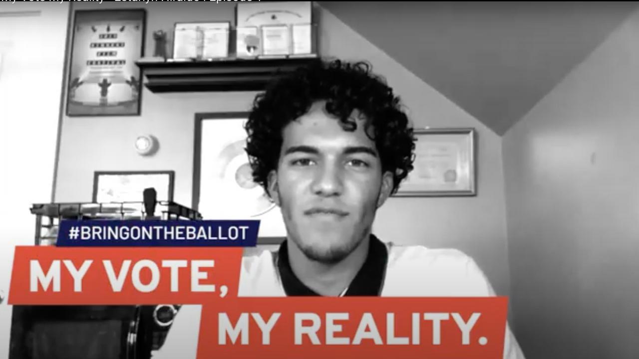 My Vote, My Reality