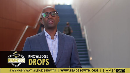 LEAD360 Knowledge Drops™: Rodney Gillespie