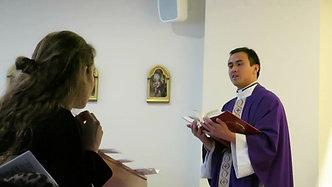 Misa de jóvenes y fiesta española