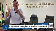 Almeida pede ampliação da rede de energia elétrica em Jaraguá do Sul