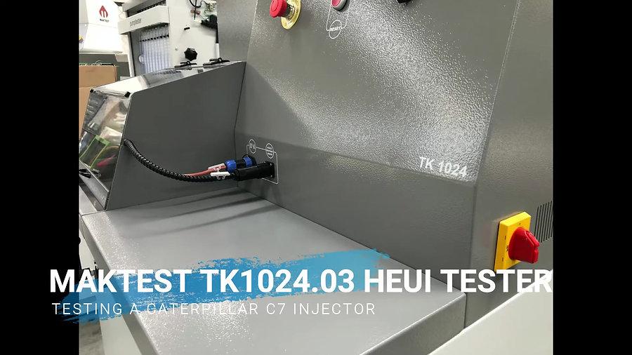 TK1024 HEUI Injector Test bench Channel