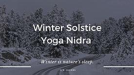 Winter Solstice - Yoga Nidra