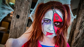 Harley Quinn make up Time-lapse