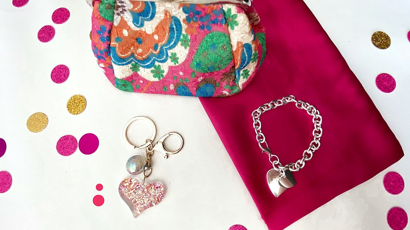video Beautiful Pink Bag Products