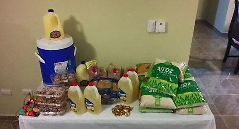 Présentation des denrées alimentaires ...