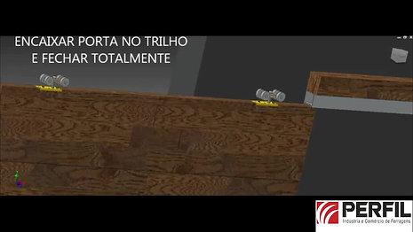 Vídeo KIT Embutir e Acabamento Madeira