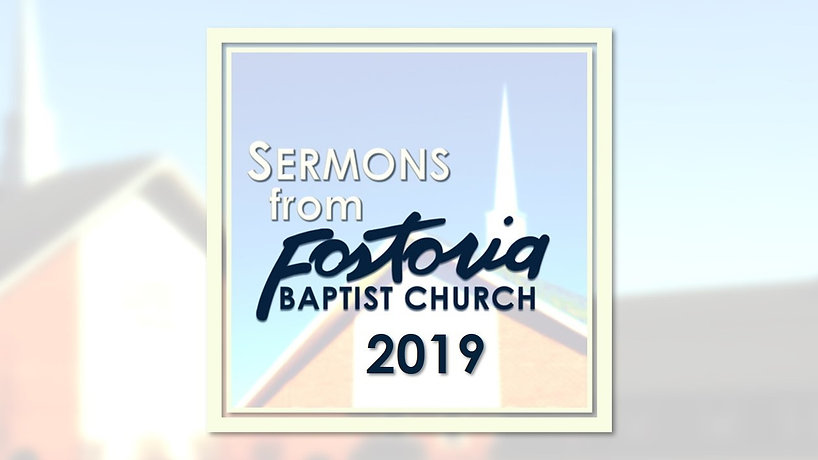 Sermon Playlist 2019