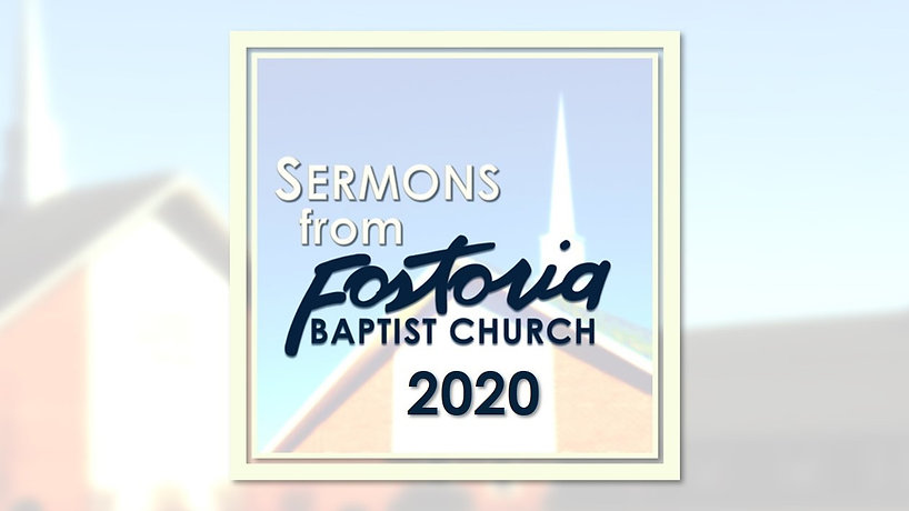 Sermon Playlist 2020