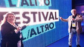 "DIRETTA RAI - Angela Saieva ospite a ""L'Altro Festival"""