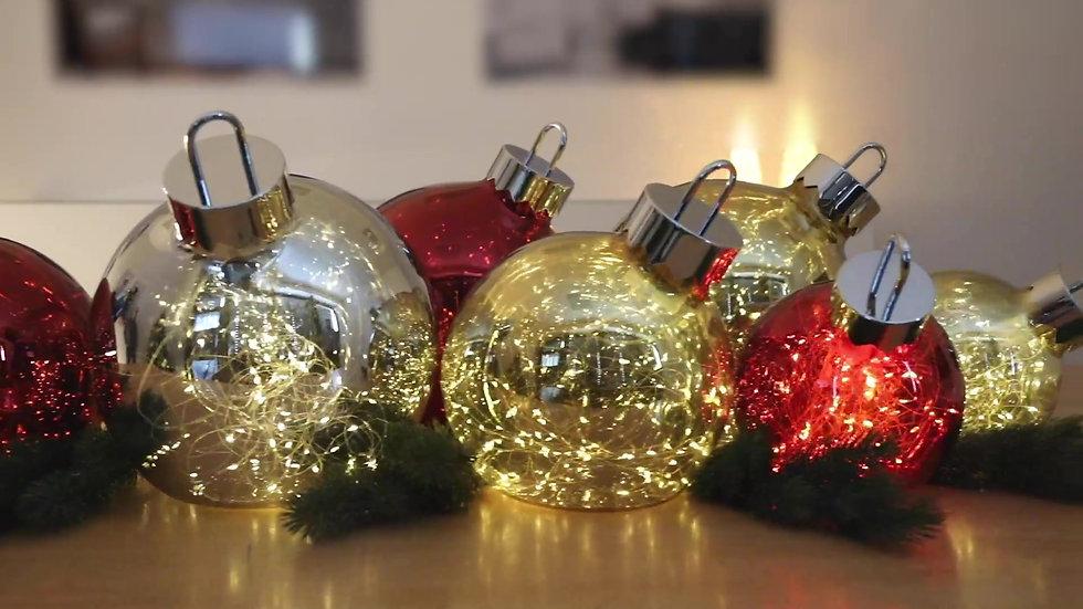 """Sompex """"Ornament"""" LED Kugeln"""
